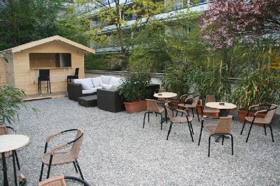 Studentenwohnheim Clemensstr. 118 Garten